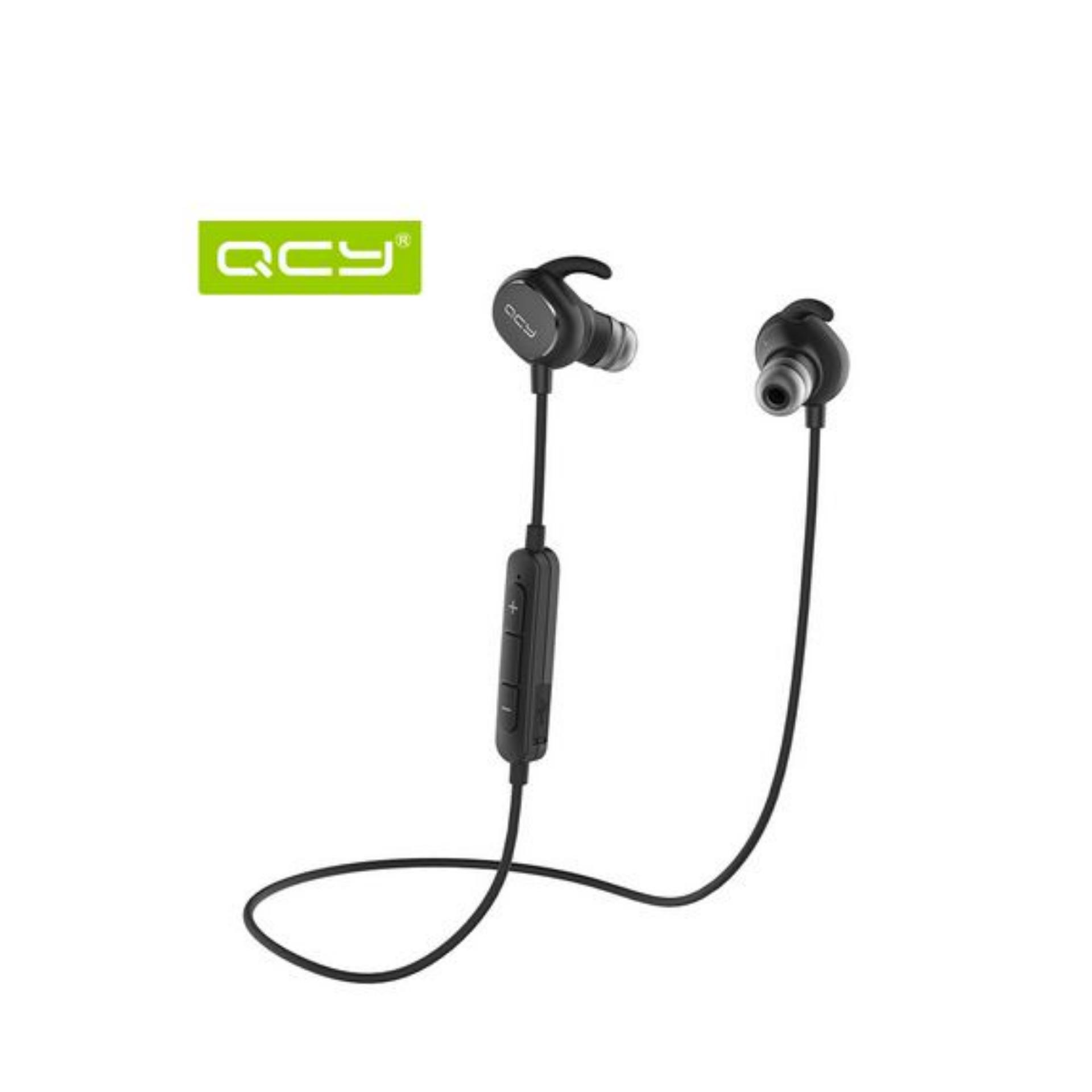 Harga Qcy Qy19 Headphone In Ear Stereo Sport Bluetooth V4 1 Sweatproof Qy19 Bluetooth Headset Wireless Earphone Sport Driving English Voice 2016 New For Iphone Xiaomi Pc Smartphones Brand Origin Qcy Bluetooth Headphone Hitam Baru Murah