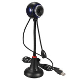 Spek Qiaosha Bendable Usb Hd Webcam Web Cam Video Camera Mic Untuk Pc Laptop