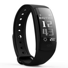QS90 Gelang Detak Jantung Tekanan Darah Memantau Beberapa Mode Olahraga Pintar Jam Tangan untuk IOS dan Android Telepon-Internasional