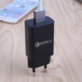 Spesifikasi Qualcomm Certified Qc 2 Usb Wall Charger Adapter Quick Charge Eu Plug Intl Bagus