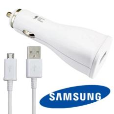Promo Toko Quality Samsung Charger Mobil With Micro Usb Cable Output 2A 15W Putih