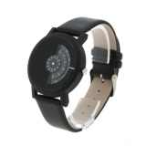 Toko Quartz Watches Luxury Casual Watch Half Transparent Design Black Intl Not Specified Di Tiongkok