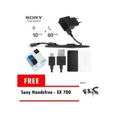 Ulasan Tentang Quick Charger Sony Ep881 Original Gratis Handsfree Sony Ex700 Original Hitam