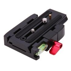 Harga Lempeng Rilis Cepat P200 Adaptor Clamp For Manfrotto 577 501 500 Ah 701 Hdv 50 Hitam Termurah