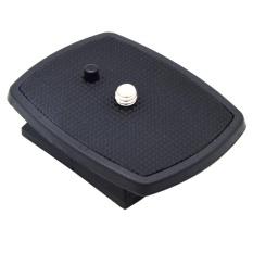 [HOT]Quick Release Plate Tripod Head untuk QB-4W Sony CX-888 CX-444 Velbon-Intl