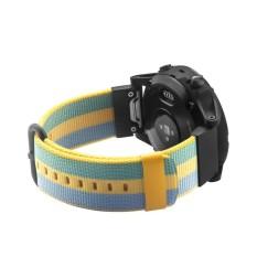 Spesifikasi Quick Release Woven Nylon Wristband Strap For Garmin Fenix 5 Forerunner 935 Approach S60 Gps Watch Intl Dan Harga