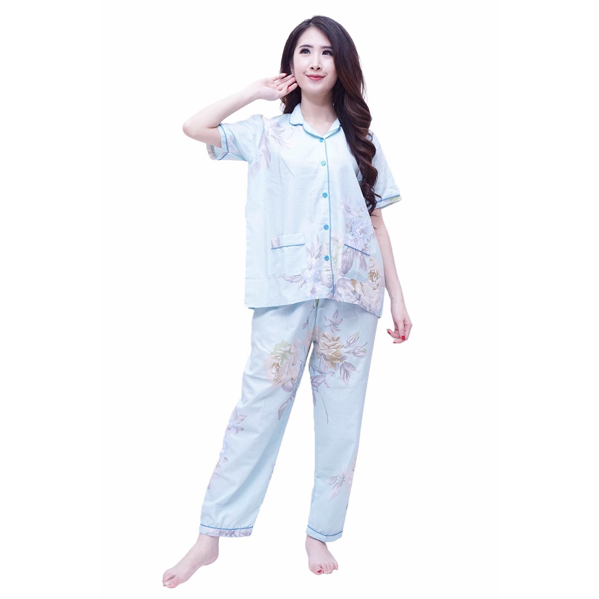 Jual Quincy Baju Tidur Gretha Piyama Celana Panjang Tosca Termurah