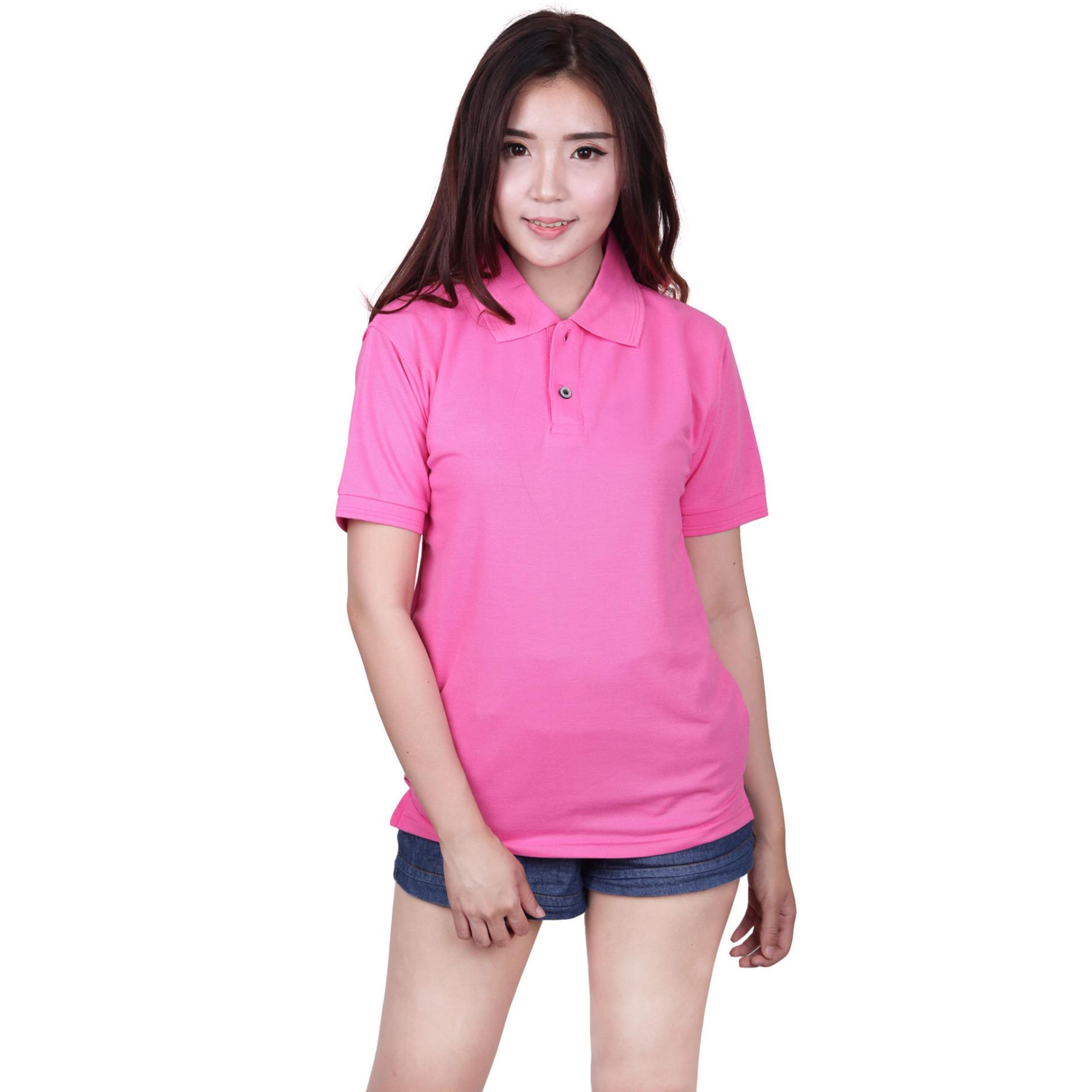 Quincy Label Women Polo Shirt - Pink