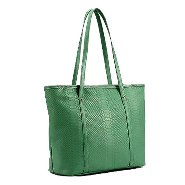 Toko Quincylabel Croco Tote Bag Green Online