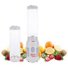 Spesifikasi Quincylabel Shake And Take Blender Portable 2 Bottle Transparant Yang Bagus Dan Murah