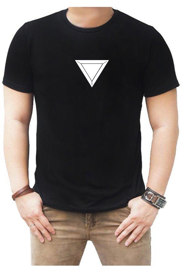 Spek Quincylabel T Shirt Mark 23 Hitam Quincylabel