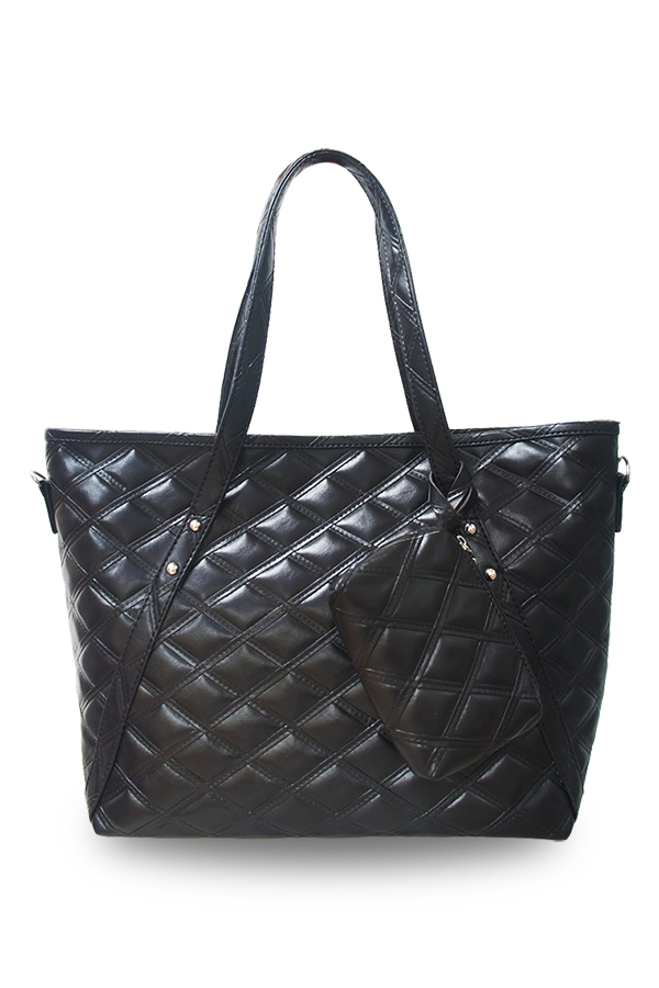 Promo Quincylabel Tote Louise Bag Black
