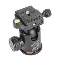 QZSD Q02 Kamera Tripod Ball Head dengan Pelepasan Rilis Cepat 1/4