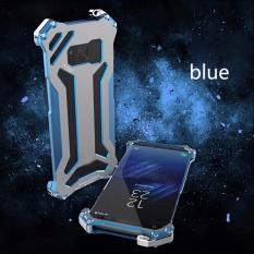 R-JUST Gundam Luxury Shockproof Aluminium Case Cover untuk Samsung Galaxy S8-Intl