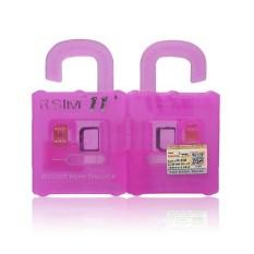 R-SIM11 + Profesional LTE 4g SMART Kartu Perbaikan, Bekerja dengan Apple Iphone 7 + 7 6 S + 6 S 6 5C 5 S Warna: Rose Merah Spesifikasi: Rsim11 + RSIM11 + Unlock Kartu-Intl