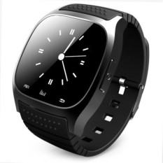 R-Watch Bluetooth M26 SMS Anti Hilang 1.4 Smart LED Light Tampilan Smart Watch Hitam