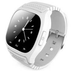 R-Watch Bluetooth M26 SMS Anti Lost 1.4 Smart LED Light Display Smart Watch White