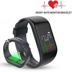 R1 Smart Bracelet Heart Rate Monitor Band Pedometer Sports ActivityTracker Monitor Fitness Watch Wristband  - intl