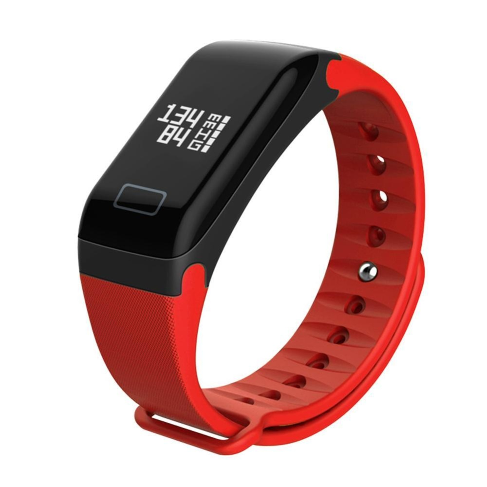 R3 Waterproof Smart Band Heart Rate Blood Pressure Monitor Fitness Tracker(Red) - intl