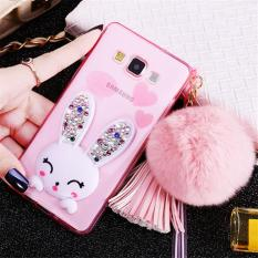 Beli Rabbit Diamond Samsung A5 A7 J5 J7 2015 Soft Case Back Cover Casing Hp Cicil