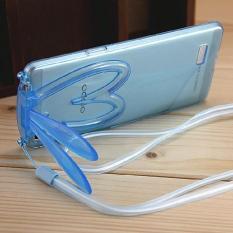 RABBIT EAR Oppo R5 R7 Lite R7s Soft Case Back Cover Casing Lucu Imut