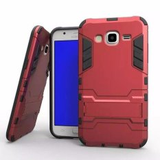 Radical Casing Armor Kickstand Series For Samsung Galaxy J5 - Merah