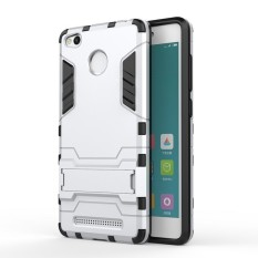 Radical Casing Armor Kickstand Series For Xiaomi Redmi 3s Pro - Silver