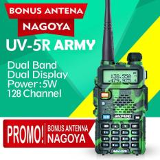 RADIO HT BAOFENG UV-5R ARMY UV5R HANDY TALKY