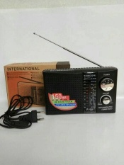 RADIO INTERNATIONAL F-18 AM/FM/SW MODEL JADUL ANTIK RADIO RODJA