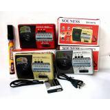 Jual Radio Saku Souness Sni 637U 637 Am Fm Sw Mp3 Pocket Baterai Recharger Bisa Usb Mmc Warna Random Ori