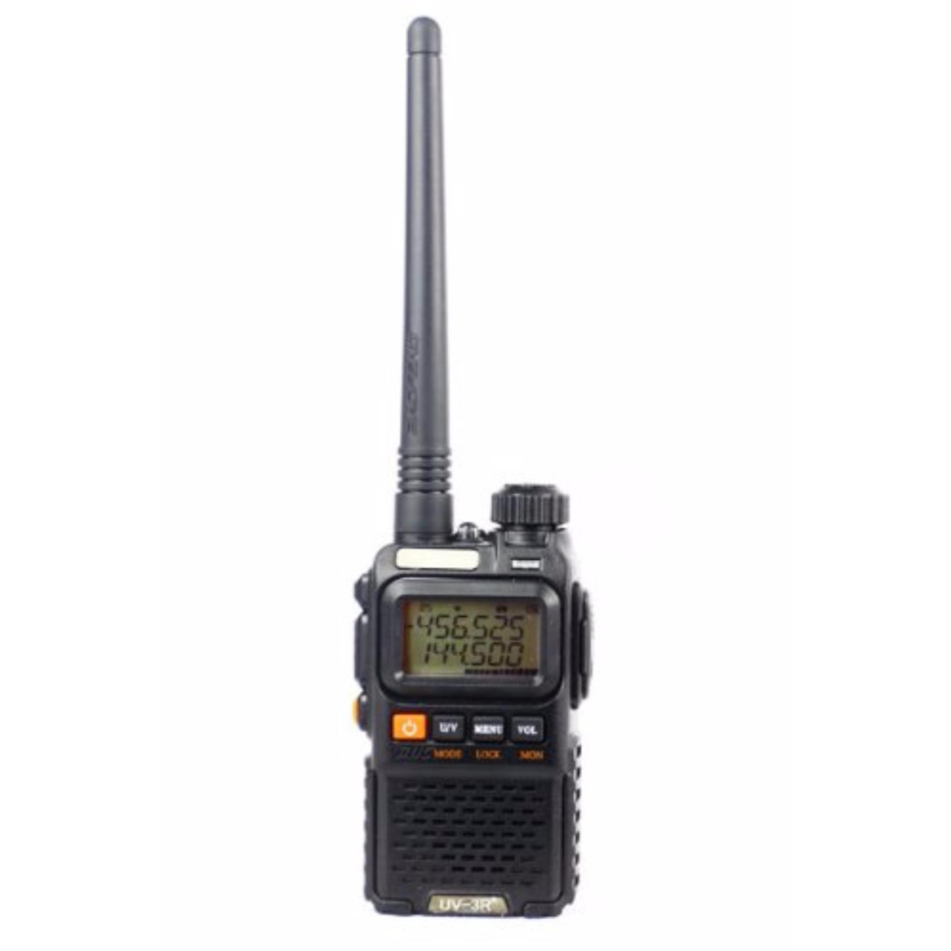 Beli Radio Walkie Handy Talky Ht Baofeng Pofung Dual Band Uhf Vhf Uv 3R Plus Nyicil