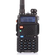 Radio Walkie Handy Talky HT BAOFENG POFUNG Dual Band UHF VHF UV-5R - Black