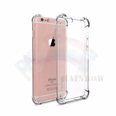 Rainbow Apple iPhone 5G /  iPhone 5S / iPhone 5SE /  Iphone5G / Iphone5s / Iphone5SE Soft Case Anti Crack / Softcase Anti Shock / Silicon TPU / Softshell / Casing iPhone - Transparan