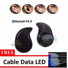 Beli Rainbow Bluetooth V 4 Music Invisible Handsfree Bluetooth Model S530 Kacang Mete Micro Sport Stereo Mini Headset Smartphone Wireless Earphone Free Cable Data Led Random Hitam Di Dki Jakarta