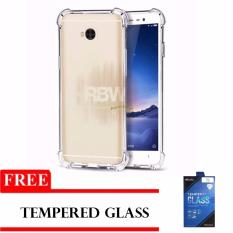 Rainbow Case Anti Crack Lenovo A7700 Transparan + FREE Tempered Glass  / Soft Case Anti Shock A7700 / Softshell Shockproof Ultrathin A7700  Lenovo / Silikon Case Lenovo Clear