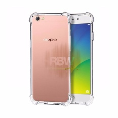 Rainbow Case Anti Crack Oppo A57 Transparan Soft Case Anti Shock A57 / Softshell Shockproof / Ultrathin Oppo A57 / Silikon Case Oppo Clear