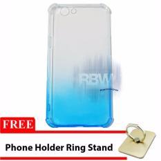 Rainbow Case Anti Crack Oppo F1s Selfie Expert Soft Case Shockproof Gradasi Colours/ / Jelly