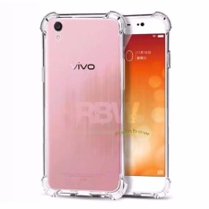 Rainbow Case Anti Crack Oppo F1S Selfie Expert  Transparan Soft Case Anti Shock A59 / Softshell Shockproof / Ultrathin Oppo A59 / Silikon Case Oppo Clear