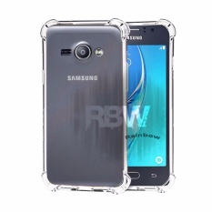 Rainbow Case Anti Crack Samsung Galaxy J1 Ace J110 / Case Anti Shock Samsung J1 Ace / Softshell Shockproof / Casing Samsung / Silikon Case J1 Ace Samsung Clear