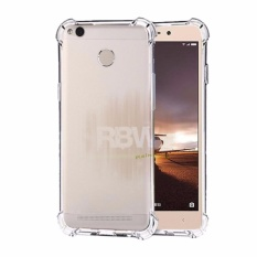 Rainbow Case Anti Crack Xiaomi Redmi 4X Transparan / Soft Case Anti Shock Redmi 4x / Softshell Shockproof Xiaomi Redmi 4X / Ultrathin 4x Xiaomi / Silikon Case Xiaomi Clear