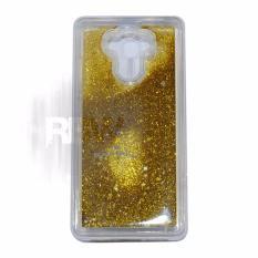 Rainbow Case Water Glitter Xiaomi Redmi 4 / 4 Prime Soft Case Aquarium Redmi 4 Prime / Casing Liquid Series Blink Blink Star / Ultrathin Glitter  Xiaomi Redmi 4 / Silikon Case / Jelly Case / Casing Xiaomi - Gold