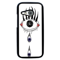 Rainbow Eye Pattern Phone Case for HTC One M8 Mini (Multicolor)