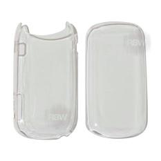 Rainbow Hardcase Samsung Caramel GT-E1272 Back Case Samsung E1272 - Transparant White