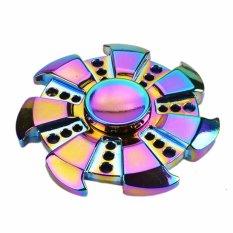Harga Rainbow Heptagonal Tangan Spinner Zinc Alloy Metal Fidget Spinner Intl Baru