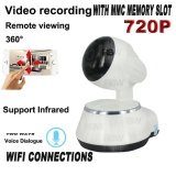 Beli Rainbow Cctv Ip Camera Smart Net Ct V380 Q6 Wifi Hd720 1Mega Pixel P2P Cctv Camera Cctv Putih Pake Kartu Kredit