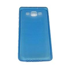 Rainbow Jelly Silicone Case for Samsung Galaxy A5 / A500F - Biru