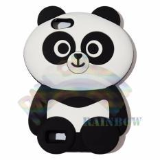 Rainbow Oppo Neo 7 A33 Silicone Softcase 3D Panda Chubby Boneka Imut / Case HP / Silikon HP / Softcase Kartun / Soft Back Case Unik Lucu / Case Karakter Funny  / Casing Hp / Casing Oppo - Panda Gemes