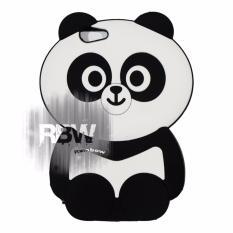 Toko Rainbow Silikon Case 3D Vivo Y53 2017 Case 4D Caracters Panda Gemes Casing Vivo Soft Case Boneka Panda Lucu Cute Lengkap