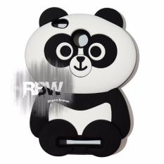 Rainbow Silikon Case 3D Xiaomi redmi 4X Case 4D Caracters Panda Gemes / Casing Xiaomi / Soft Case Boneka Panda Imut