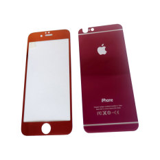 Rainbow Tempered Glass 2in1 Mirror Glossy For Apple iPhone 6G/6S 4.7 inchi Screen Protector / Pelin